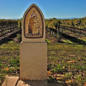 New Clairvaux vineyards, St. Bernard of Clairvaux