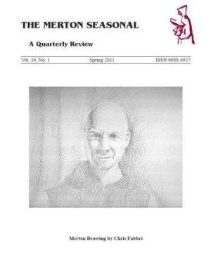 May 2011 Chris Fabbri portrait of Thomas Merton, Spring issue, Merton Seasonal