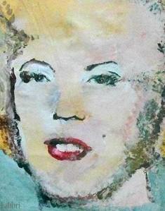 2012 Monroe, acrylic on canvas 20″X16″