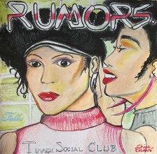 "2014 Timex Social Club, oil on paper 18""x18"" •"
