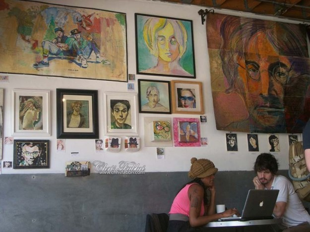 Chris Fabbri artshow Brainwash Cafe SF June 2014 (22)
