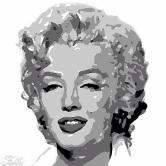 Monroe black and white digital