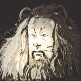 Cowardly lion digital