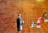 The Underground muralist