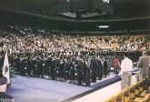 NESAD Suffolk University graduation 1996 Boston Garden