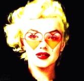 Monroe hearts shades