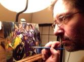 Prince, acrylic on canvas