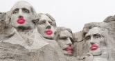President kisses