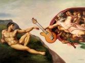 Michaelangelo's music from the heavens