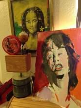 Chris Fabbri art studio Spring 2016