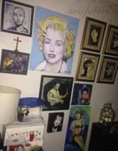 Chris Fabbri art studio 2016