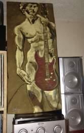 David Unplugged, Chris Fabbri art studio 2016
