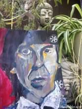 George Harrison portrait painting by Chris Fabbri 2016