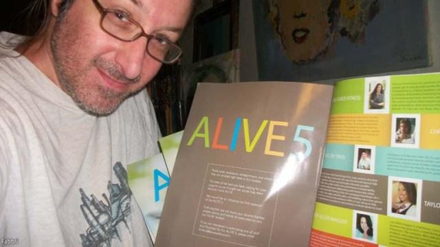 Alive Magazine June 2014 feat. Chris Fabbri