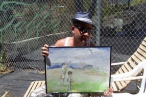 Bernie, LA art collector