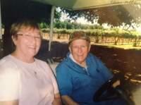 2009 My Ma and Fr.Bernard Johnson, Vina vineyards New Clairvaux