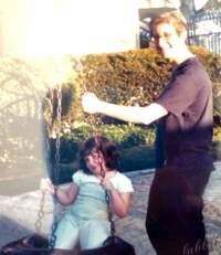 with my niece 2003