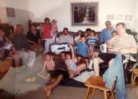 with my family 2003