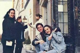 1994 damn good times in artschool, Newbury Street Boston
