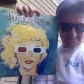 2016 Marilyn's true story in 3-D, acrylic on cardboard 12 1/2″x12 1/2″ www.ChrisFabbri.com