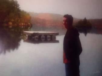 Ma father, Maine 1978