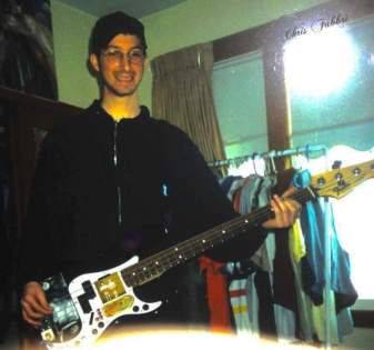 1996 with my Fender Precision Bass guitar