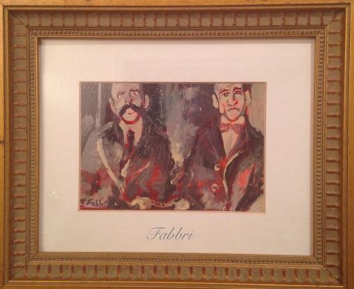 Sacco and Vanzetti painting by Chris Fabbri