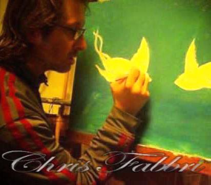 Chris Fabbri painting Two Souls 2013