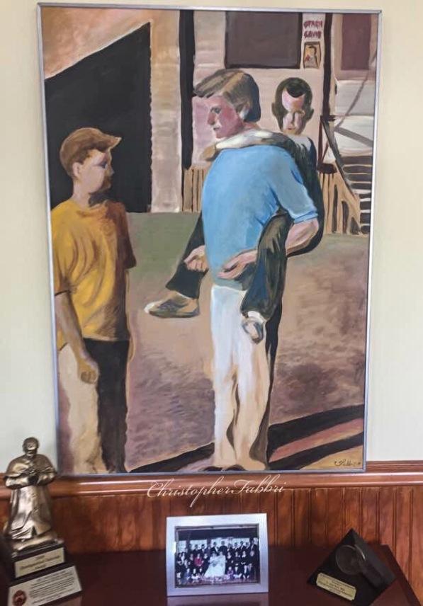 Fr.John NY exhibition www.chrisfabbri.com
