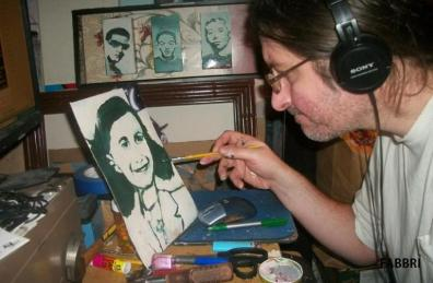 Chris Fabbri art studio - sold works in Ohio