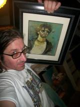 2014 MCA Adam Yauch painting by Chris Fabbri www.chrisfabbri.com